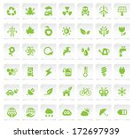 Ecology Icons On A Notepaper 2.