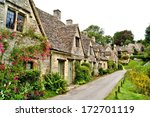 Houses Of Arlington Row In The...