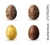 Easter Decorated Chocolate And...