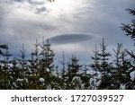 Ufo Shaped Cloud In Romanian...