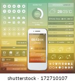 set of various elements used... | Shutterstock .eps vector #172710107