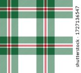 Green Red And White Tartan...