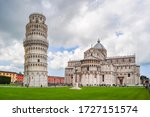 Pisa Cathedral And Leaning...