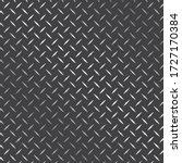 diamond plate metal texture...   Shutterstock .eps vector #1727170384
