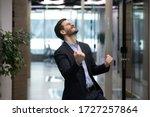 Millennial Office Worker In...