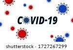 coronavirus officially known as ...   Shutterstock . vector #1727267299