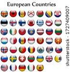 group flags symbol of european...   Shutterstock .eps vector #1727409007