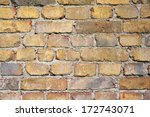 brick wall for backgrounds. | Shutterstock . vector #172743071