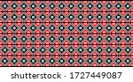 traditional romanian folk art...   Shutterstock .eps vector #1727449087