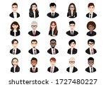 big bundle of different people...   Shutterstock .eps vector #1727480227