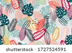 abstract seamless pattern with...   Shutterstock .eps vector #1727524591