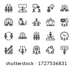business people icons. team ... | Shutterstock .eps vector #1727536831