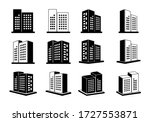 icons building and company  3d... | Shutterstock .eps vector #1727553871