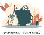 mental health care treatment... | Shutterstock .eps vector #1727558467