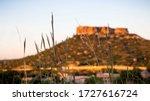 A Castle Rock Landscape At...