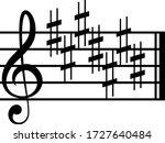 vector illustration of black...   Shutterstock .eps vector #1727640484
