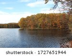 A fall day at Brunet Island State Park in Cornell Wisconsin