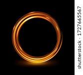 abstract glowing circle ...
