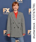 Small photo of LOS ANGELES - JAN 09: Jessie Buckley {Object} arrives for �The Way Back' World Premiere on January 09, 2020 in Los Angeles, CA