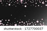 nice sakura blossom isolated... | Shutterstock .eps vector #1727700037