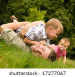 family having fun together on...   Shutterstock . vector #17277067