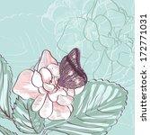 illustration of beautiful... | Shutterstock .eps vector #172771031