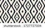 ikat geometric folklore... | Shutterstock .eps vector #1727727334