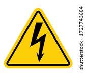 High Voltage Icon  Danger...