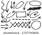 hand drawn doodle design... | Shutterstock .eps vector #1727743834