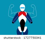 artificial intelligence with... | Shutterstock .eps vector #1727750341