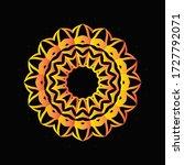 mandala graphic design for art  ... | Shutterstock .eps vector #1727792071