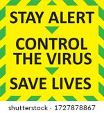 """""""stay alert""""  """"control the... 