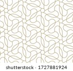 seamless pattern with abstract... | Shutterstock .eps vector #1727881924