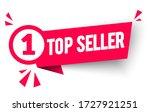 vector illustration top seller... | Shutterstock .eps vector #1727921251