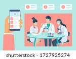 health and medical consultation ... | Shutterstock .eps vector #1727925274