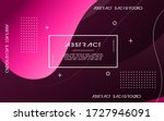 modern abstract liquid color... | Shutterstock .eps vector #1727946091