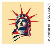 Statue Of Liberty Illustration...