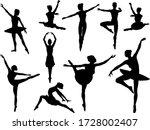 Ballet Dancer Set Of...