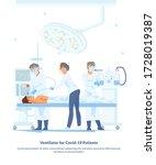flat illustration ventilator... | Shutterstock . vector #1728019387