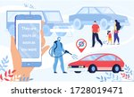 car buying online service on... | Shutterstock . vector #1728019471