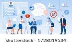 creative idea new project... | Shutterstock . vector #1728019534