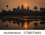 Temples Of Angkor Areal  With...