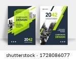 corporate book cover design... | Shutterstock .eps vector #1728086077