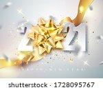 2021 happy new year elegant... | Shutterstock .eps vector #1728095767
