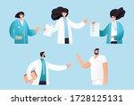 vector flat illustration of... | Shutterstock .eps vector #1728125131