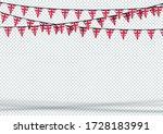 bunting hanging banner uk... | Shutterstock .eps vector #1728183991
