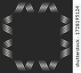 square shape blank frame... | Shutterstock .eps vector #1728195124