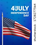 happy 4th of july usa... | Shutterstock .eps vector #1728277564