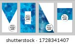 modern tech covers with blue...   Shutterstock .eps vector #1728341407