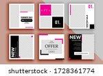 set of sale banner template... | Shutterstock .eps vector #1728361774
